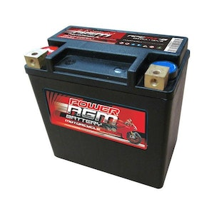 Power AGM 12V 12AH 300CCAs Motorcycle Battery