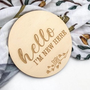 Hello I'm New Here Announcement Disc
