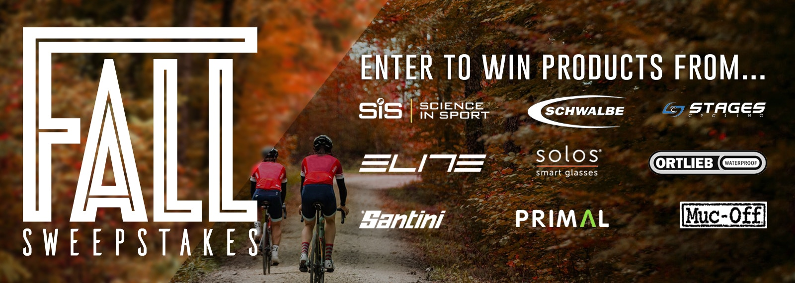 BIKEEXCHANGE FALL SWEEPSTAKES!! Enter to win any of our daily prizes!