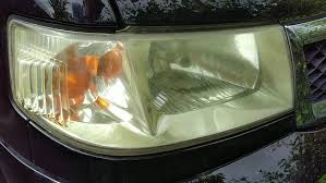 Restoring Yellowed Headlights