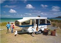Jayco campers provide plenty of space in an easy towing Recreational Vehicle