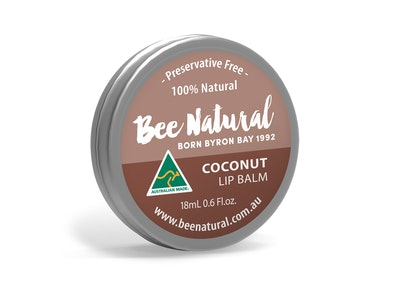 Bee Natural Coconut LIP BALM 18mL