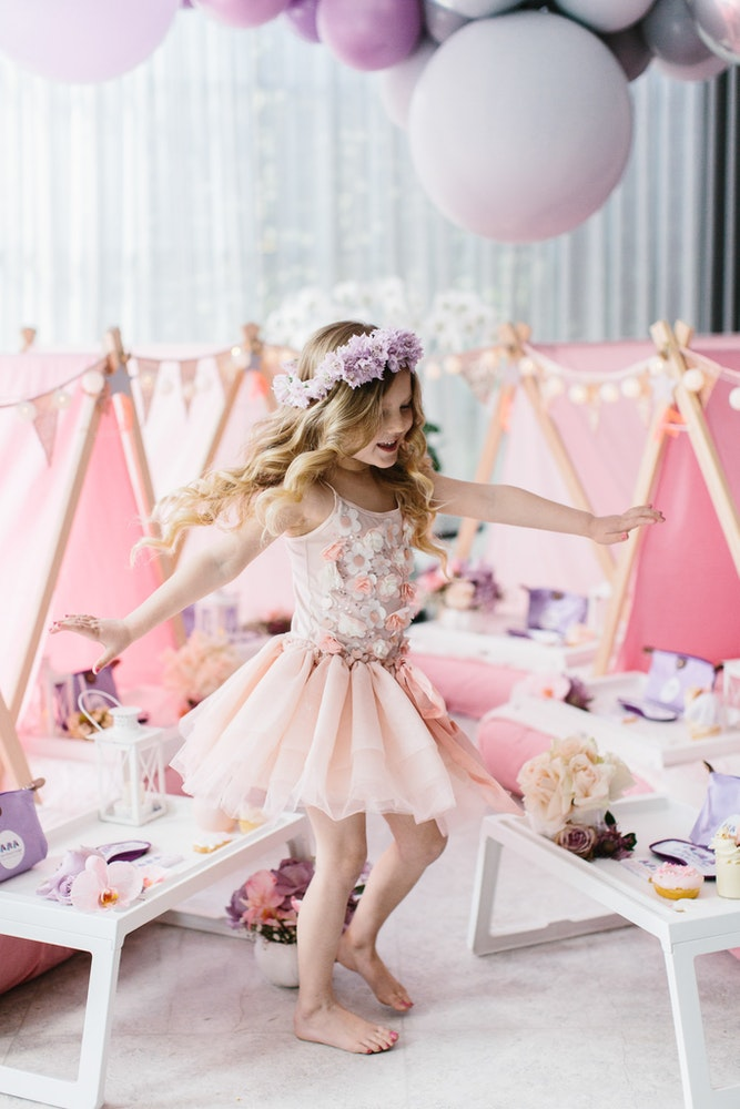 Tutu Du Monde Pink birthday party Dress