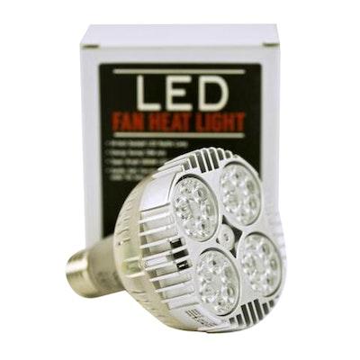 VG Led Fan Reptile Heating Light Lamp E27 240V 35W