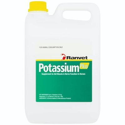 Ranvet Potassium Plus Horses Muscle Aid & Nerve Function Supplement - 2 Sizes