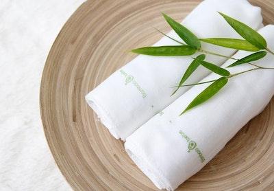 Bamboo Gauze Handkerchief 10pcs Set (For Sensitive Skin)