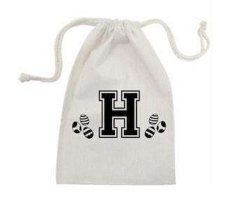 Personalised Initial Easter Bag
