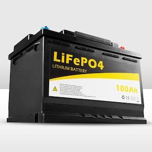 12V 100Ah Lithium LiFePO4 Battery