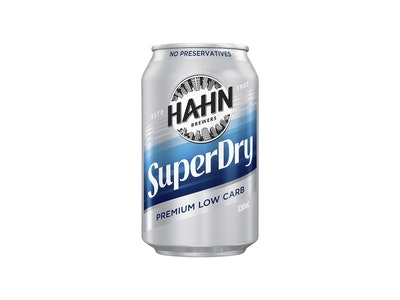 Hahn Super Dry Can 330mL
