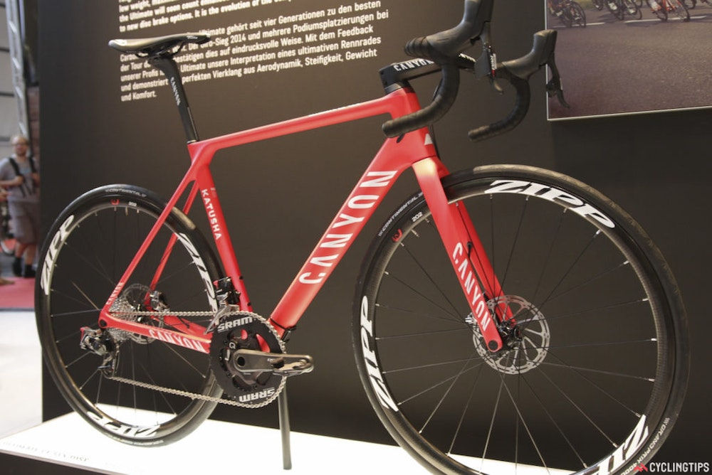 Canyon UltimateCFSLXDisc Eurobike2016 1024x684