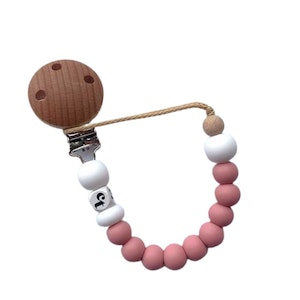 Cheeky Toes™ Cheeky Dummy Clip I Vintage Rose