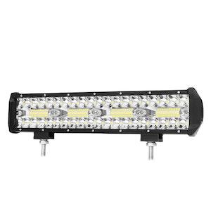 LIGHTFOX LIGHTFOX 12inch CREE LED Work Light Bar Work Driving Lamp Combo OffRoad 4WD