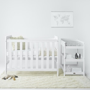 Tiburon 3 in 1 Cot with Change Table