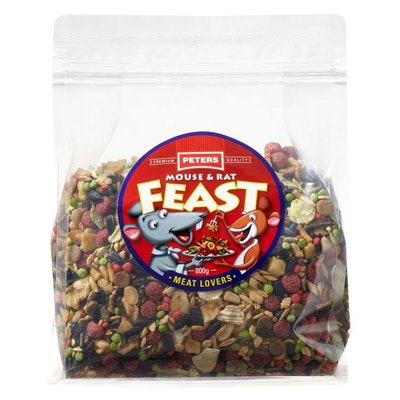 Peters Mouse and Rat Meat Lovers Feast  800gm