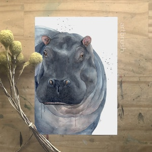artbrush Sahara Series 'Harold' print