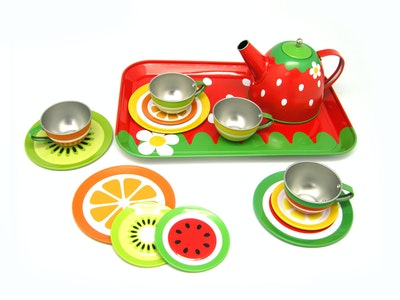 Kaper Kidz FRUIT TIN TEA SET