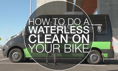 How to Clean Your Bike Without Water