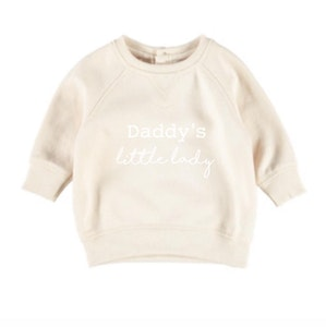 Daddy's Little Lady Jumper - Beige