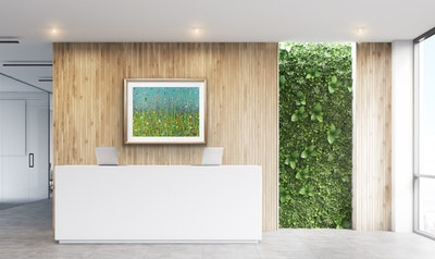Fiona Adams Artwork A Joyful Heart - Landscape Print