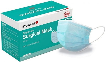 BYD Care Surgical - Disposable - Level 3 - Face Masks (50 Pack)