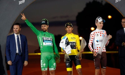 Egan Bernal se Convierte en Leyenda - La Clausura del Tour de Francia 2019