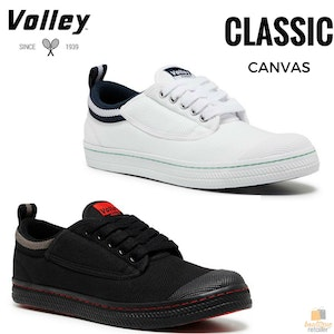 Boutique Medical DUNLOP VOLLEYS Volley CLASSIC Men's Sneakers Casual Lace Up Shoes Canvas New