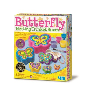 4M - Butterfly Nesting Trinket Box