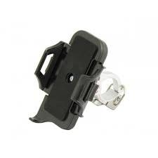 Minoura IH-100S 'Phone Grip' Silver H/Bar 31.8mm