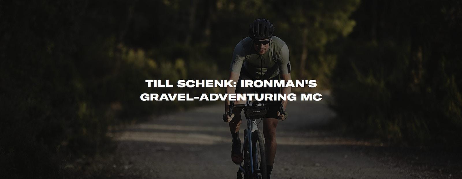Santini - Till Schenk: IRONMAN's gravel-adventuring MC