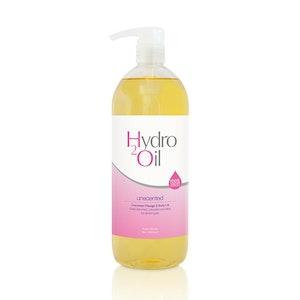 Caronlab Hydro 2 Oil Massage Oil Unscented 1 Litre 1L Moisturising Non Greasy