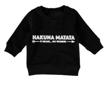 Hakuna Matata Jumper - Black