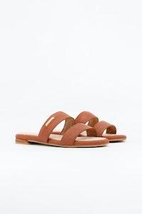 1 People Capri Sandals in Canela Brown