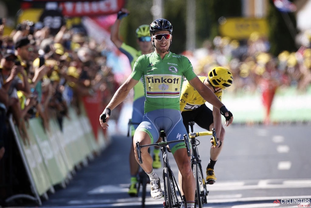 Crosswinds wreak havoc! Sagan wins Tour de France stage 11, Froome extends lead