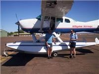 sea plane for trip to bungle bungles Pic by Geoff Carter
