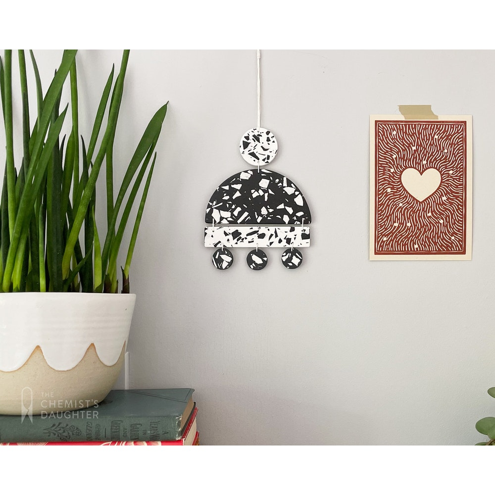 """The Chemists Daughter Arc Wall Hanging - """"iaso"""""""