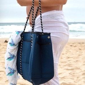 Anchor & Arrow Ultimate Mums Bag - Denim Blue