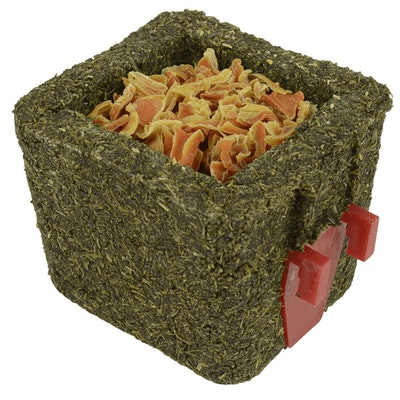 Peters Parsley Cube w/ Holder & Dried Carrot Small Animal Treat 6 x 80g
