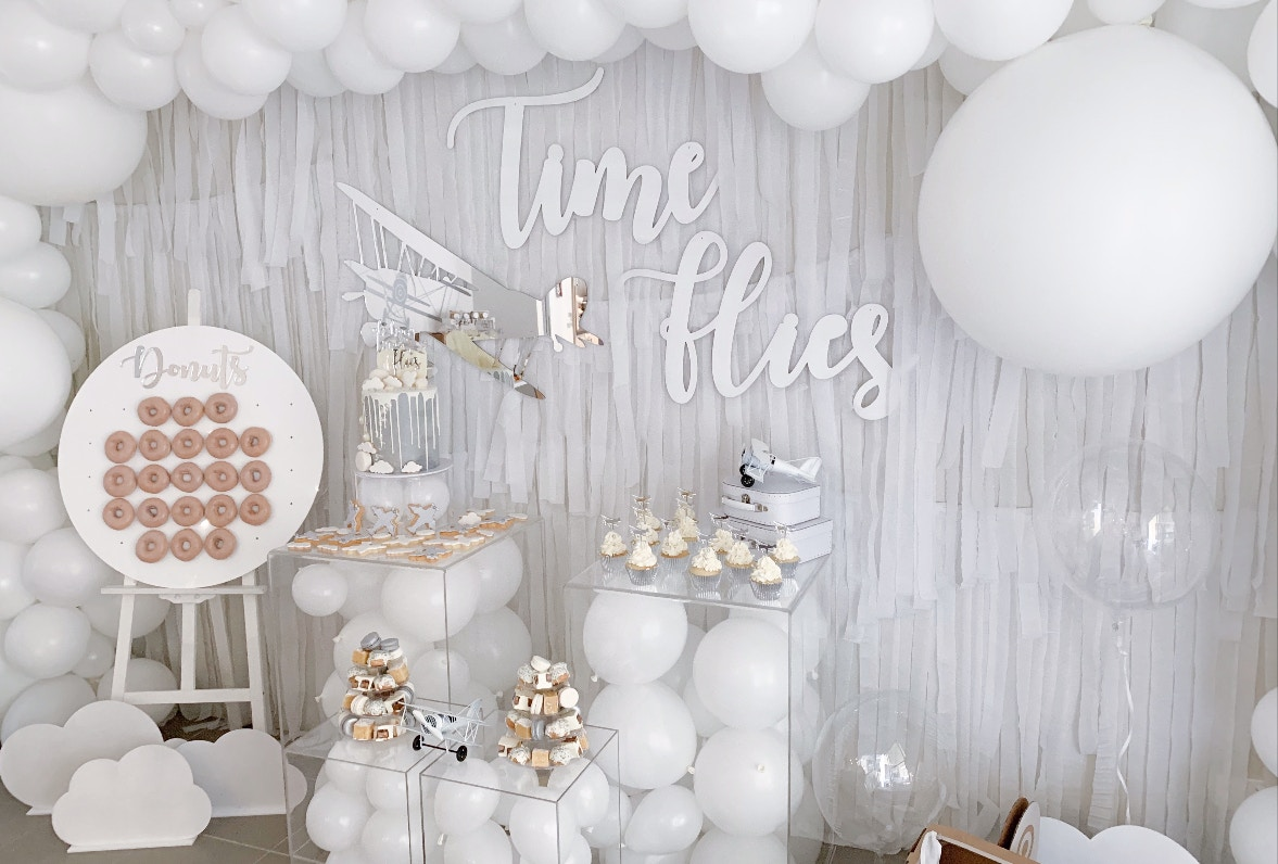 TIME FLIES: AN AVIATION THEMED 2ND BIRTHDAY PARTY