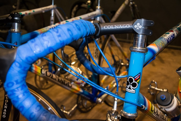 Fabio s Colnago Mapei Collection Made In Italy