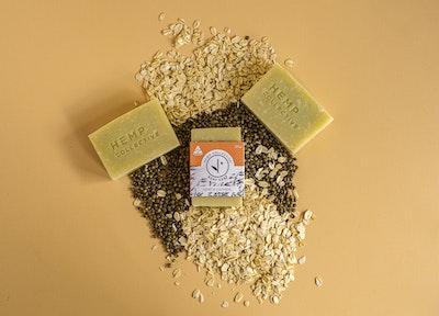 Hemp Collective Hemp & Oatmeal Soap