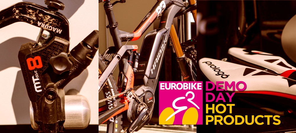 Eurobike 2015 Demo Day - Hot Products