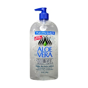 Fruit of the Earth Aloe Vera Gel Moisturising Skin Care 680g (2 x 340g with 1 Pump)