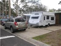 GoSee Jayco Discovery and Captiva at  Lake Fyans Holiday Park jpg