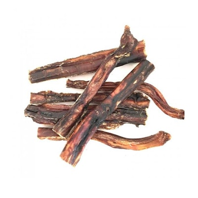 Bugsy's Pet Supplies LONG LASTING | Dehydrated Beef 'Bullystick' Pizzle Tendon Dog Chews