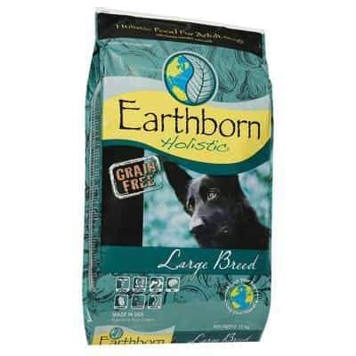 Earthborn Holistic Large Breed Grain Free Dry Dog Food - 12kg