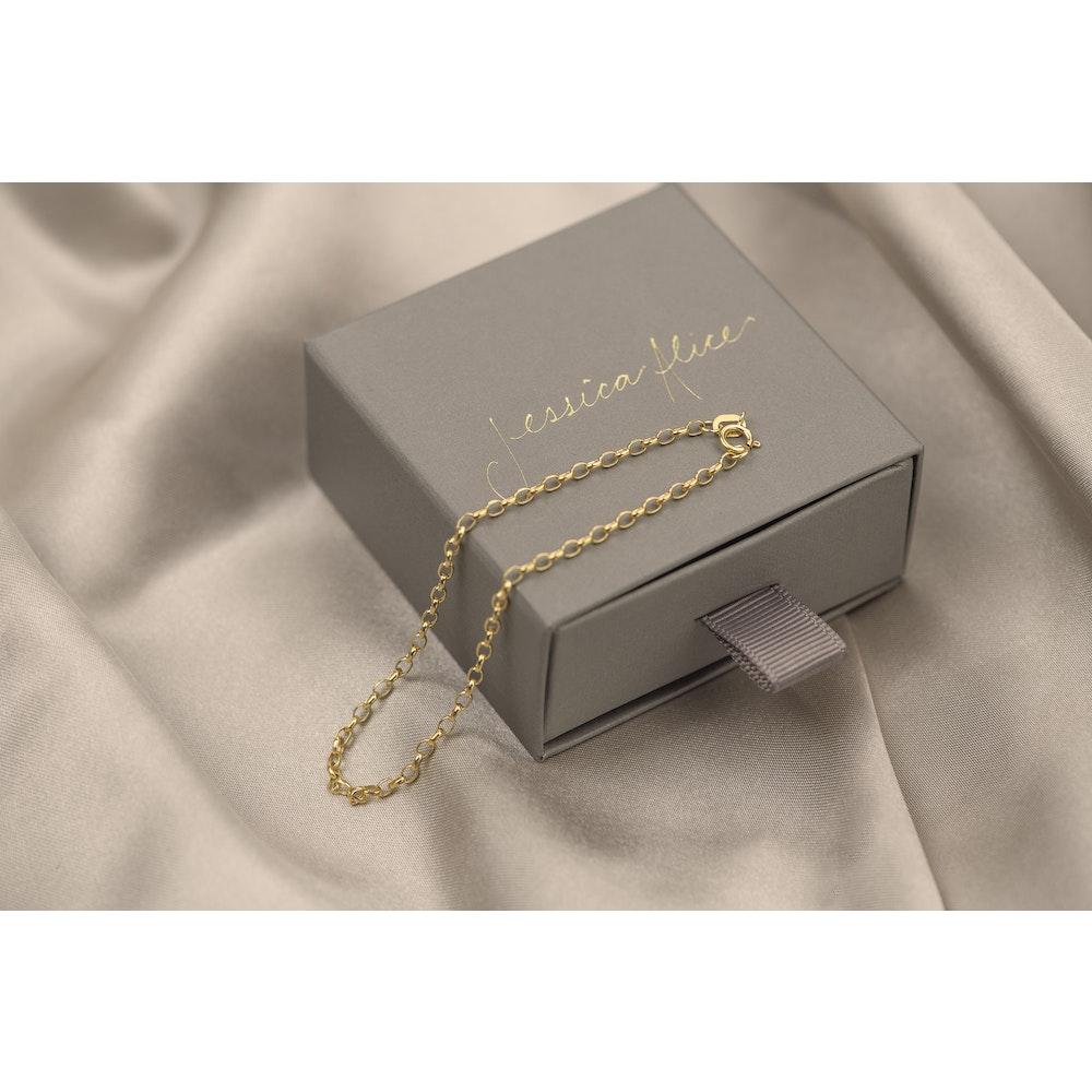 Jessica Alice Jewellery 9ct Solid Gold Classic Bracelet
