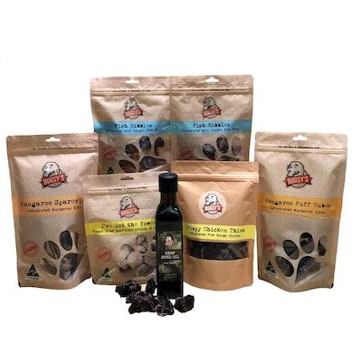 Bugsy Pet Supplies VARIETY PACKS | SENIOR Dog Pack