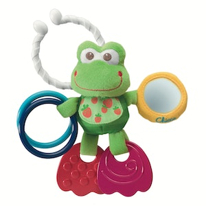 Chicco First Activities Frog - Stroller Toy