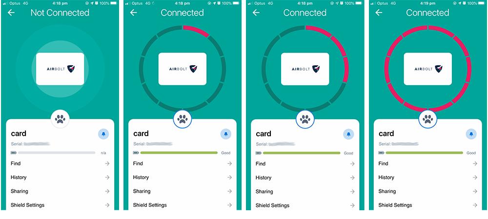 AirBolt Shield.  Der Smartcard-Tracker |  * Fair Schlüsseldienst