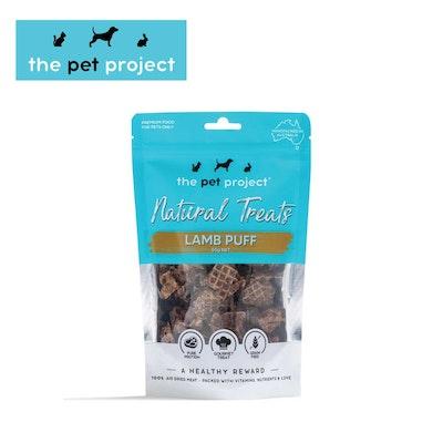 The Pet Project Natural Treats Lamb Puff 55g